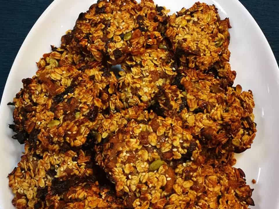 Avižiniai sausainiai su džiovintais vaisiais receptas sveika mityba