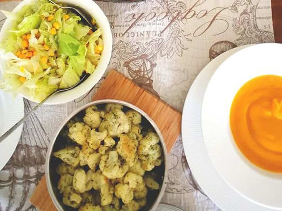 Troškinti su sviestu kalafijorai receptas sveiki pietūs