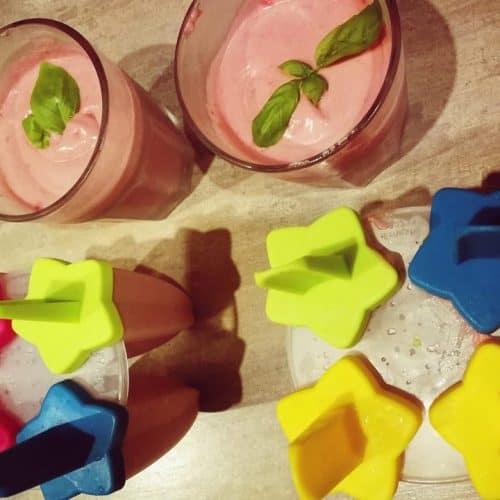Sveika mityba naminiai ledai