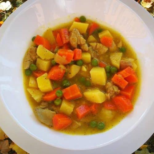 vištienos ir daržovių troškinys receptas vakarienė sveika