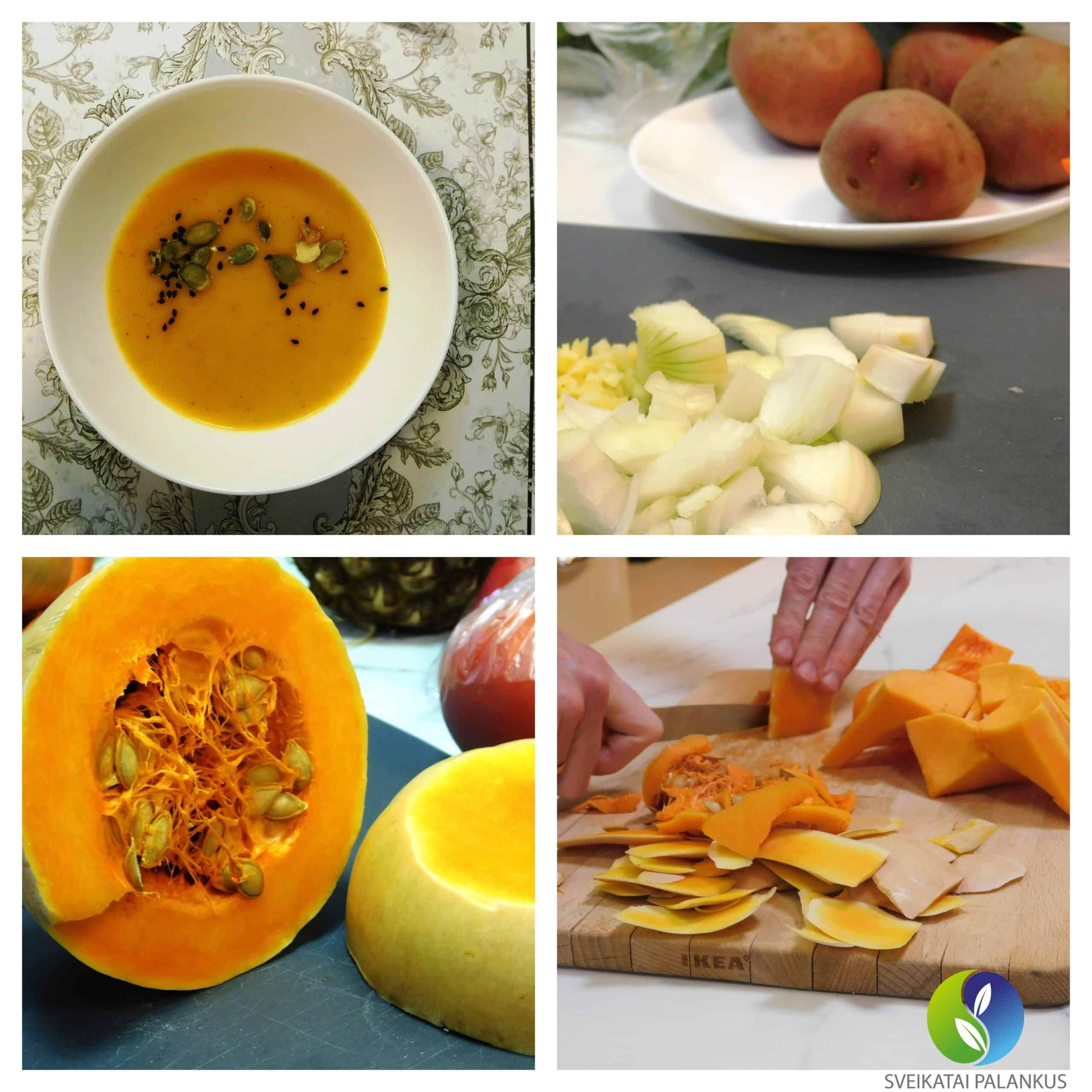 moliūgų sriuba receptas sveiki pietūs