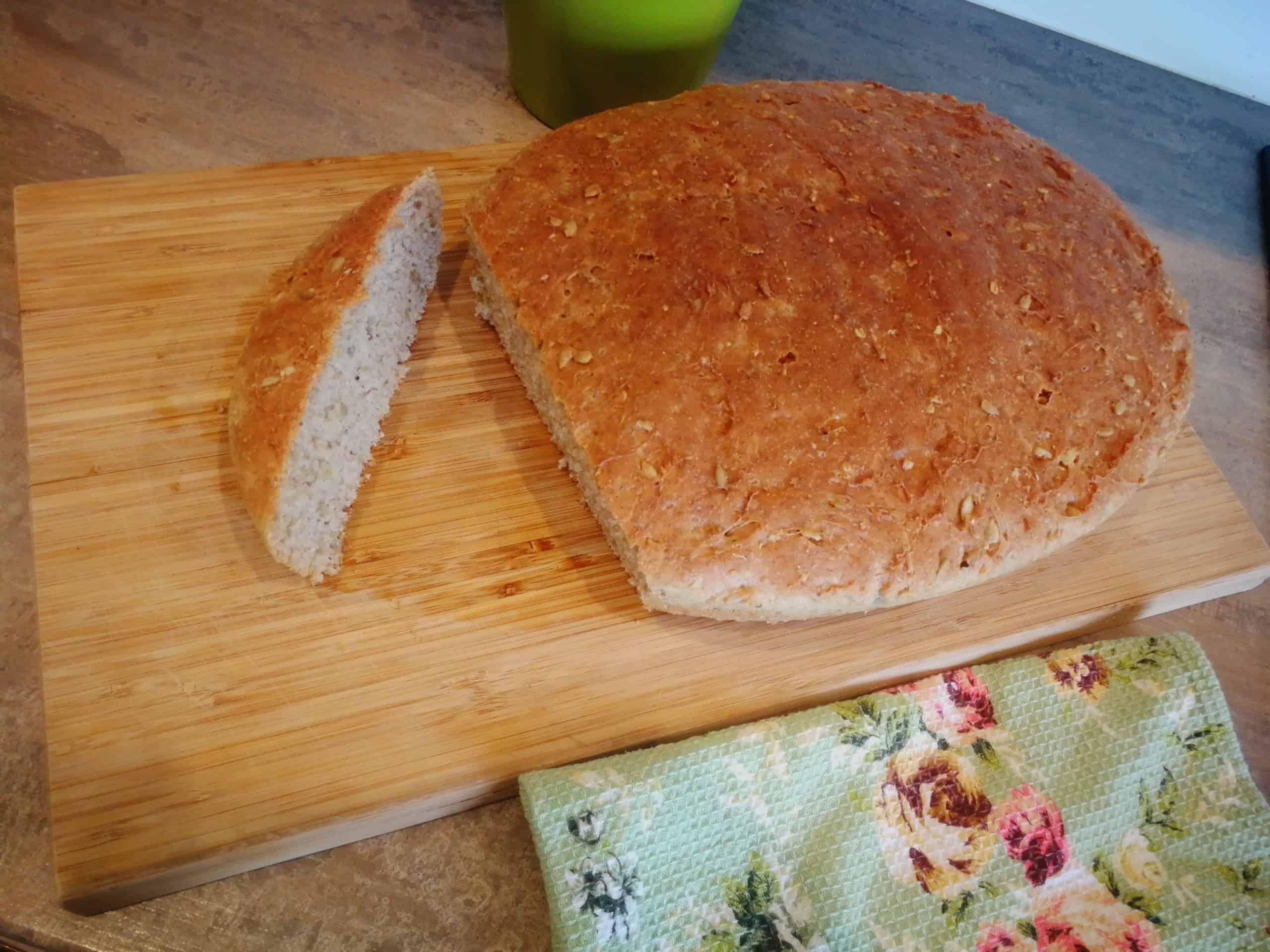 Naminė duona sveikas receptas