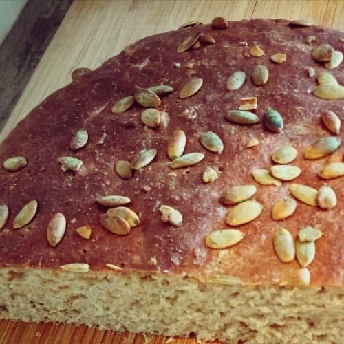 Naminė duona receptas sveikas užkandis