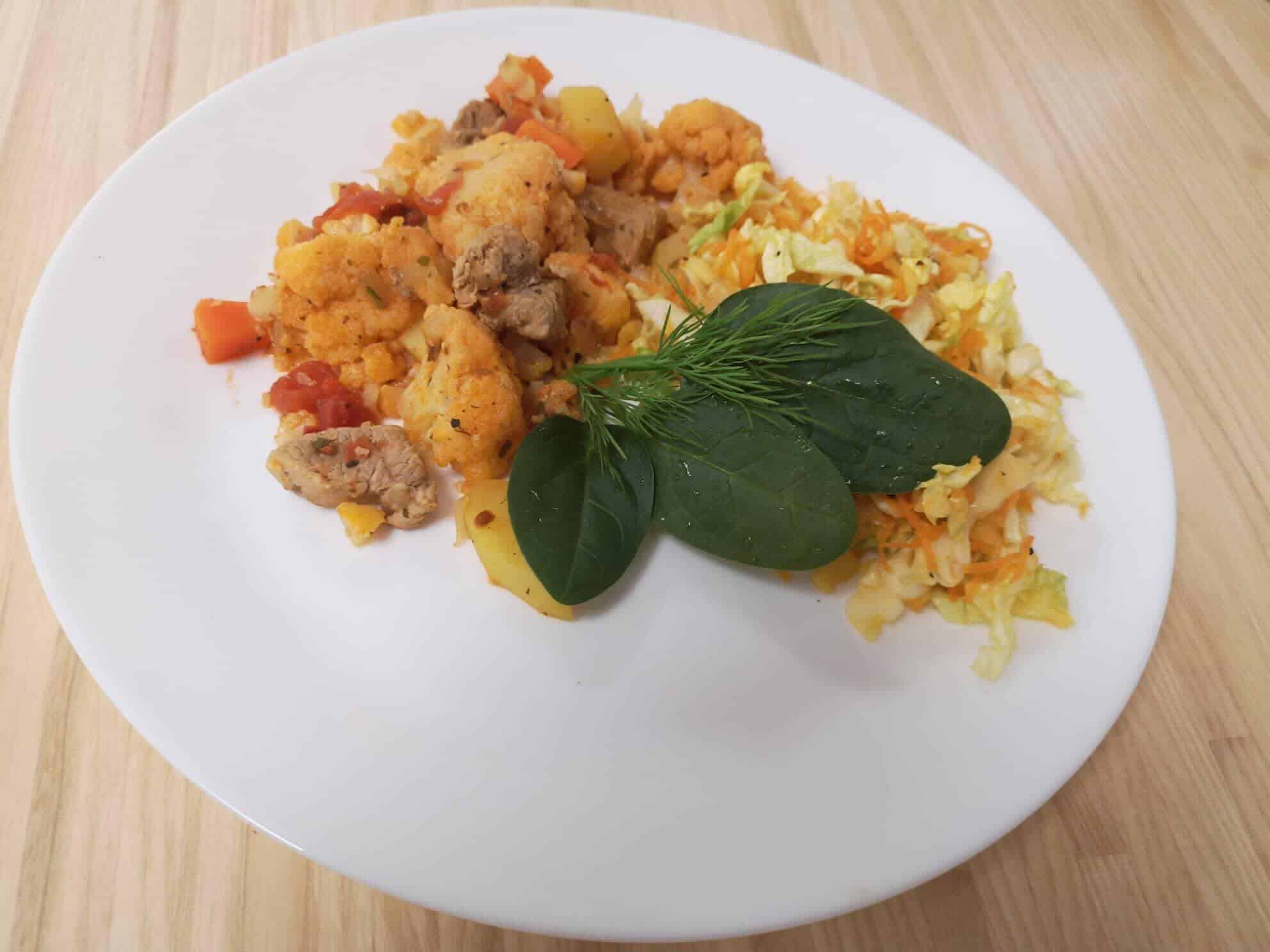 kiaulienos išpjovos ir daržovių troškinys sveiki pietūs vakarienė receptas