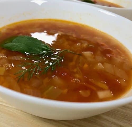 Sveikos sriubos receptas lęšiai