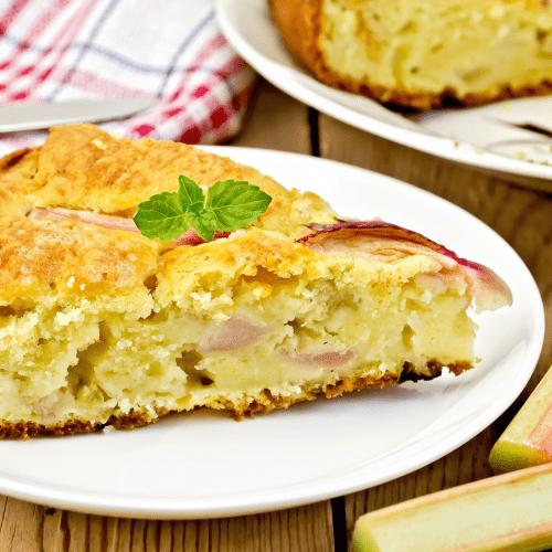 Rabarbaru pyragas receptas