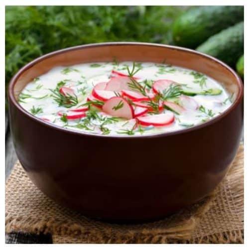 Sriuba ridikeliai salta sriuba